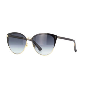 Occhiali Gucci GG0197SK 002 Black and Gold